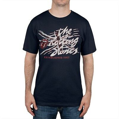 Rolling Stones - Established 1962 Soft Adult Mens T-Shirt