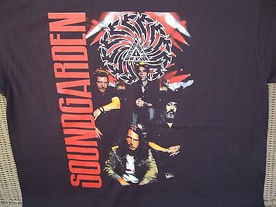 RARE!  NOS -  SOUNDGARDEN 2011 TOUR  Black T SHIRT -  ROCK BAND  Mens Sz.XL
