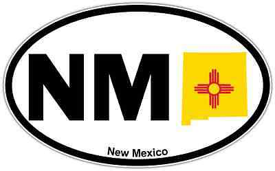 Laptop and More # 956 NM New Mexico Pride Decal Sticker for Car Window