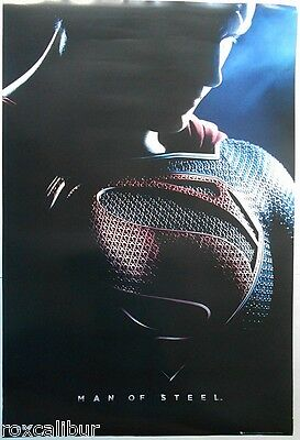 SUPERMAN Man Of Steel Henry Cavill Official 36 X 24 Inch Colour Film Poster