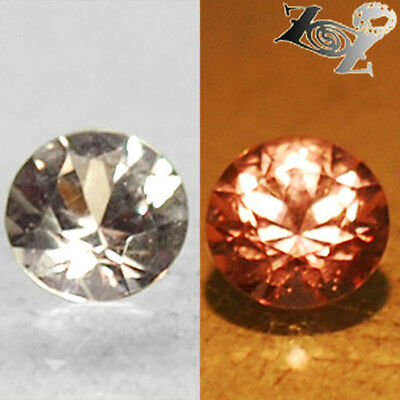 Flawless Natural Round 4 mm. Purple Pink Color Change Garnet 0.2 Ct.