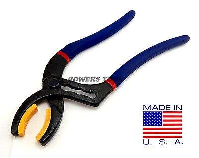 Pro America 10 in. Soft Jaw Electrical Connector Cannon Plug Pliers USA 8065