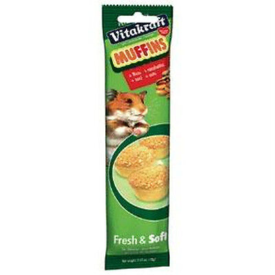Vitakraft Nutty Muffins Complementary Treats For Small Animals