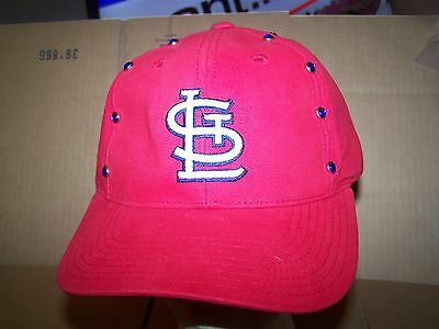 45eaee415d7 ... authentic st. louis cardinals hat cap adjustable american needle red  studs f084b 242e1