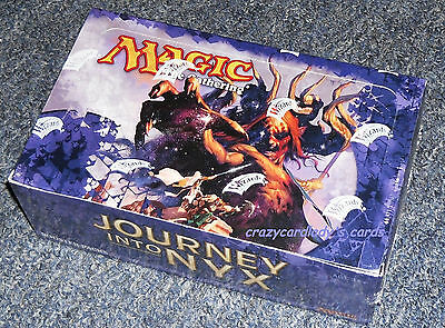Magic The Gathering Journey Into Nyx 1/3 Booster Box 12 Pack Lot Free Shipping