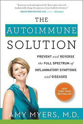 Autoimmune Solution by Amy Myers Hardcover Book (English)