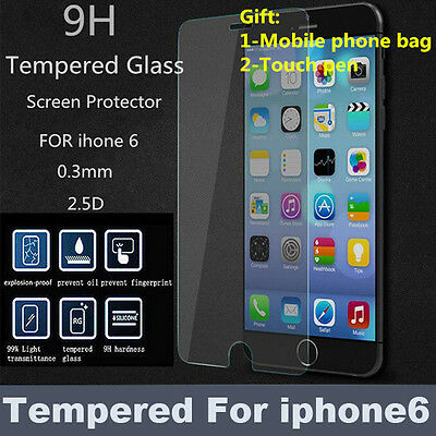 Temper Glass Screen Protector For Apple Iphone6 Iphone6S Iphone 6 6S 4.7 Inch