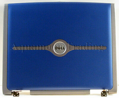 Dell Inspiron 5150 Display Visual Blue Top Panel Case W/Hinges LCD LID T3917