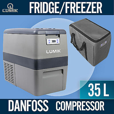 NEW! 35L Portable Freezer Fridge 12V/24V/240V  Camping Car Boat Caravan  Cooler