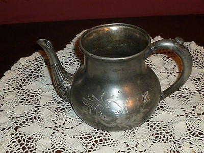 Fabulous Forbes Silver Co. Silverplate Teapot,.Wonderful Display Piece!