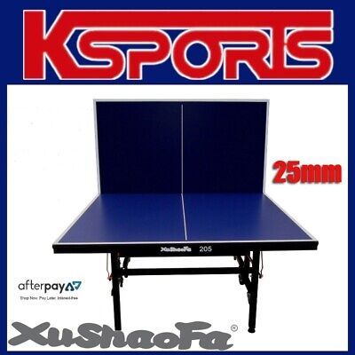 Xu Shao Fa 25mm Table Tennis Table Ping Pong Table - PROFESSIONAL SIZE