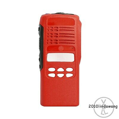 Red Replacement Housing Case for Motorola HT1250 limited-keypad Portable Radio