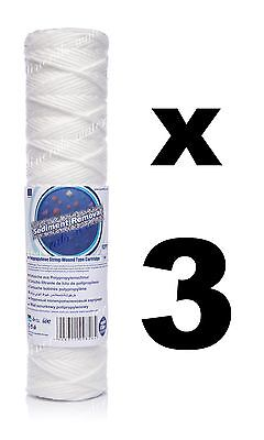 "3 x 1 micron sediment filter string-wound 10"",water filter,Reverse osmosis,RO."