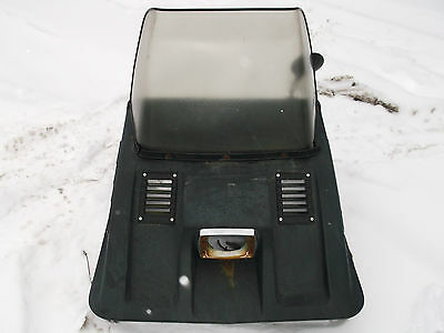 Vintage Arctic Cat 1972 Panther 399 Hood and Windshield Used