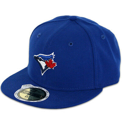New Era 59FIFTY Fitted MLB AC YOUTH On Field Toronto Blue Jays Game Cap
