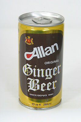 Allan Ginger Beer Can - 10oz Pull Tab B/O - 4/10/14