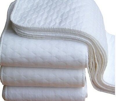 REUSABLE WASHABLE INSERTS BOOSTERS LINERS FOR POCKET CLOTH NAPPY