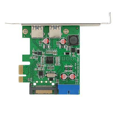 2-Port USB 3.0 PCI-E PCI Express 19-pin / 15-pin Low Profile SATA Connector