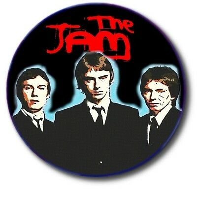 "THE JAM/ MOD/ NEW WAVE/ 1""/ 25 mm BUTTON BADGE"