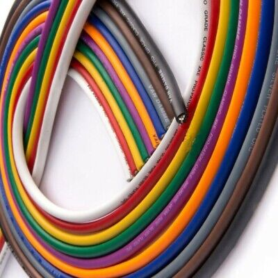 Van Damme Pro Grade Classic XKE 1 Pair Install Cable BY THE METRE - 10 COLOURS
