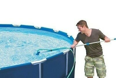 Intex Cleaning Maintenance Swimming Pool Kit with Vacuum & Pole (28002E)