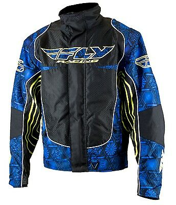 Fly Racing SNX Snow Jacket with Zip-out Liner- Waterproof Coat- Many Colors-NEW
