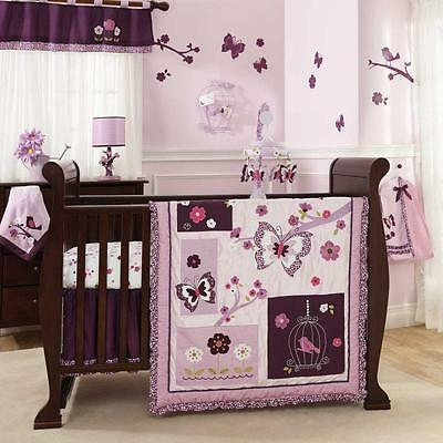 Plumberry 5 Piece Baby Crib Bedding Set by Lambs & Ivy