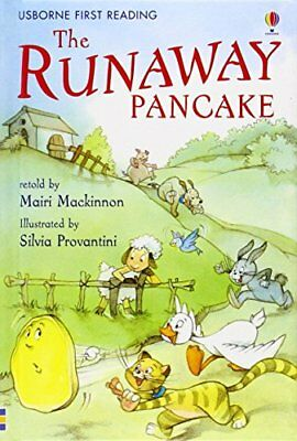 The Runaway Pancake: Level 4 (First Reading)-Mackinnon, Mairi