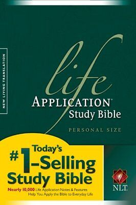 Life Application Study Bible-Nlt-Personal Size-Tyndale House Publishers