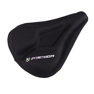 New Silicone Thick Soft Gel Bike Bicycle Cycling Saddle Seat Cover Cushion