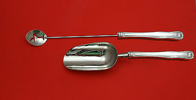 King by Kirk Sterling Silver Bar Set 2pc HHWS  Custom Made