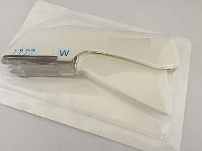 1 x Disposable Skin Stapler.CE.Sterile,Medical,Vets,Emergency,1st Aid.Exp01/2019