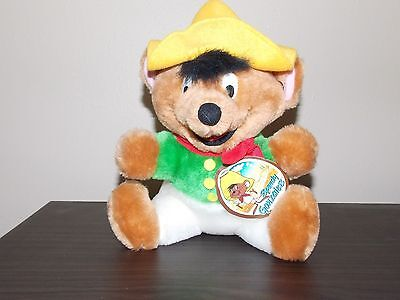 NWT 1993 24K SPEEDY GONZALES MOUSE Looney Tunes WARNER BROSPplush