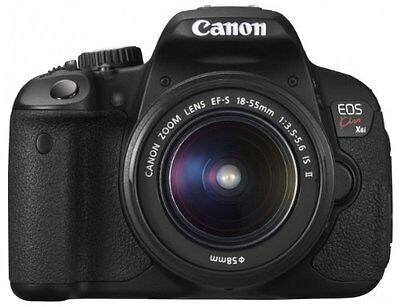 Canon digital camera EOS Kiss X6i EF-S18-55 IS II Lens Kit 1855IS2LK Japan new.