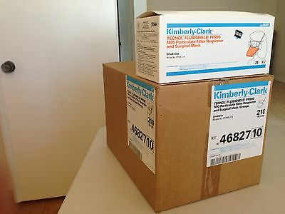 Kimberly Clark 468727 Fluidshield N95 Respirator/Surgical Mask (Case of 6 Boxes)