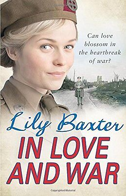 In Love and War,HC,Lily Baxter- NEW