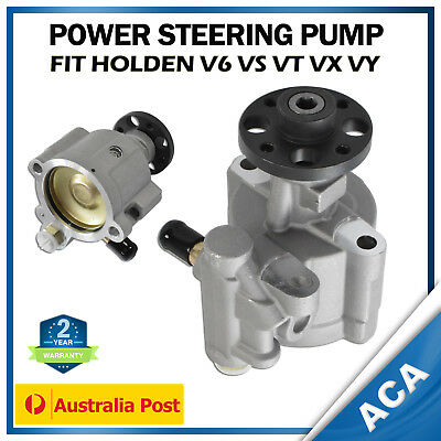 Fit Holden V6 Commodore Power Steering Pump VS VT VX VU VY WH WK P/S Pump 95-04