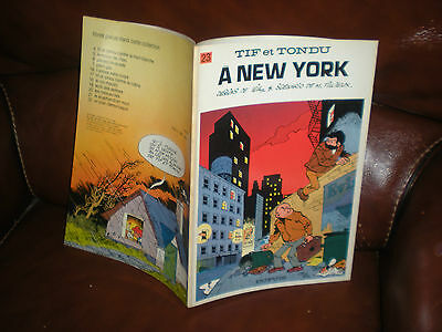 Tif Et Tondu N°23 A New York - Edition Originale Brochee 1975