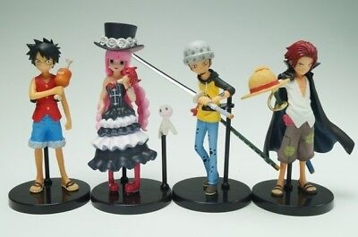 Bandai Half Age Characters ONE PIECE Promise of the Straw Hat Figure Set of 4 B