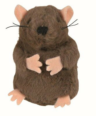 Trixie Mole Cat Toy, with sound, plush - 5cm.45786