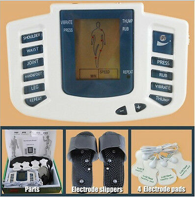Electric Stimulator Full Body Relax Massager Pulse Acupuncture therapy Modern
