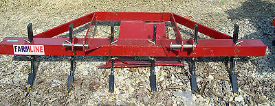 Pasture Renovator 6 Foot 8 Tooth 3 Point CAT 1 Connection Tractor Plow