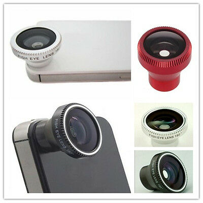 Wide 180° Detachable Magnetic Fish Eye Lens for iPhone 4 4S Cell Phone Camera
