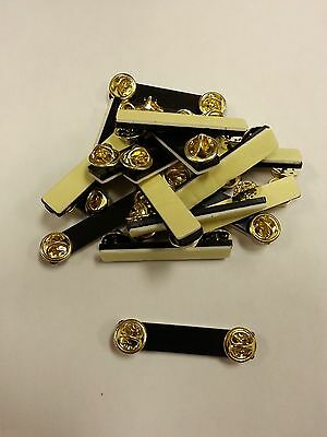 10 Double Clutch Backs for Name Tags, Badges, Pins, Ribbons - Speedy Shipping
