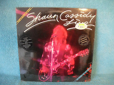 Shaun Cassidy Live, That's Rock N Roll, 1979 Warner Bros. Records HS 3265 SEALED
