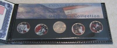 Wisconsin Commemorative Gallery State Quarter Painted Colorized Commemorative