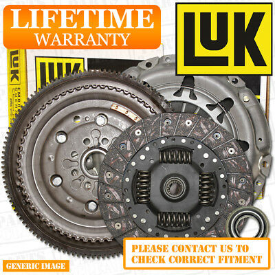PEUGEOT 407 2.0HDi LuK DMF Flywheel & Clutch Kit 136 10/05- Coupe RHR DW10BTED4