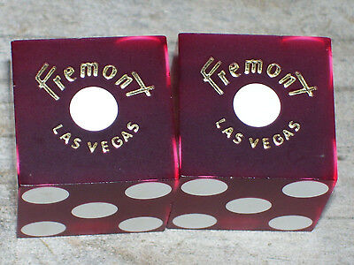 1 Pair Of Dice From The Fremont Hotel Casino Las Vegas  Nv