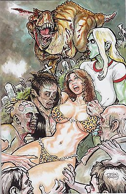 Cavewoman The Zombie Situation #1 Devon Massey Special Edition Cover B