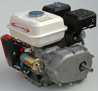 6.5hp Electric Start Stationary Engine with 2:1 Gear Reduction and Wet Clutch.